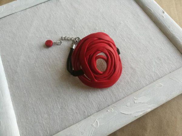 Narukvica Ruža nacrtana crvene boje
